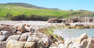 Playa Leira en Carballo