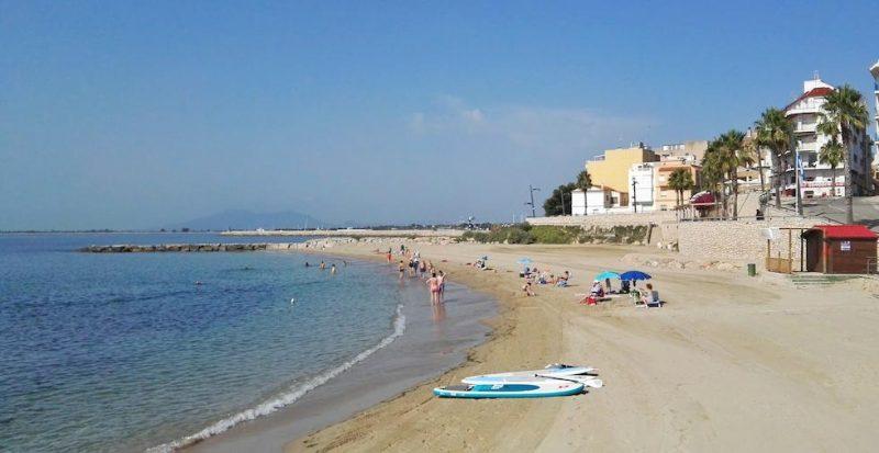 Playa Les Avellanes en L'Ampolla