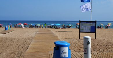 Playa Les Bovetes en Dénia