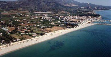 Playa Les Cases d'Alcanar en Alcanar