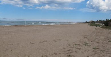 Playa Les Devesses en Oliva