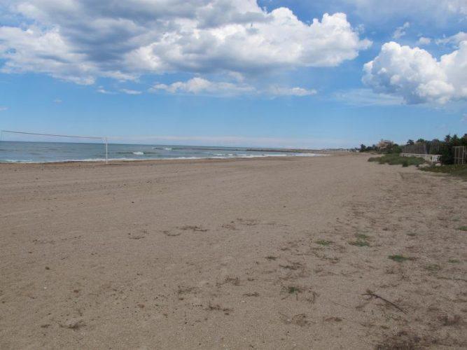 Playa Les Devesses en Oliva