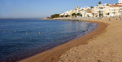 Playa Les Escaletes en Sant Pol de Mar