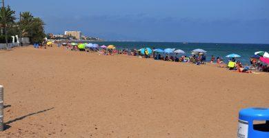 Playa Les Marines en Dénia