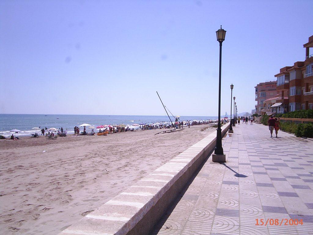 Playa Les Palmeretes en Sueca