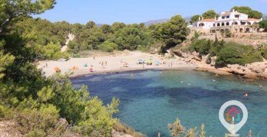 Playa L'Estany Tort en L'Ametlla de Mar