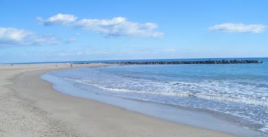 Playa L'Estanyol en Moncofa
