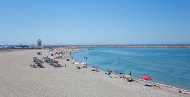 Playa Levante Almerimar en El Ejido