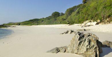 Playa Liñeiros en Bueu