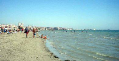 Playa Lisa en Santa Pola