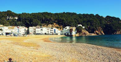 Playa Llané Gran y Petit en Cadaqués