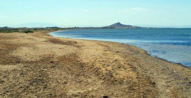 Playa Lo Poyo en Cartagena