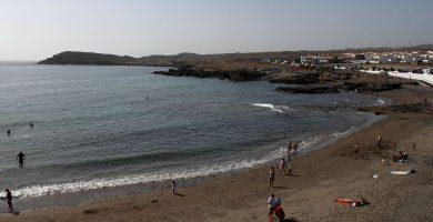 Playa Los Abrigos en Granadilla de Abona