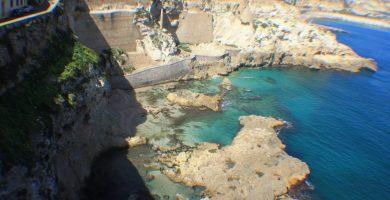 Playa Los Cárabos en Melilla