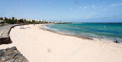 Playa Los Charcos en Teguise