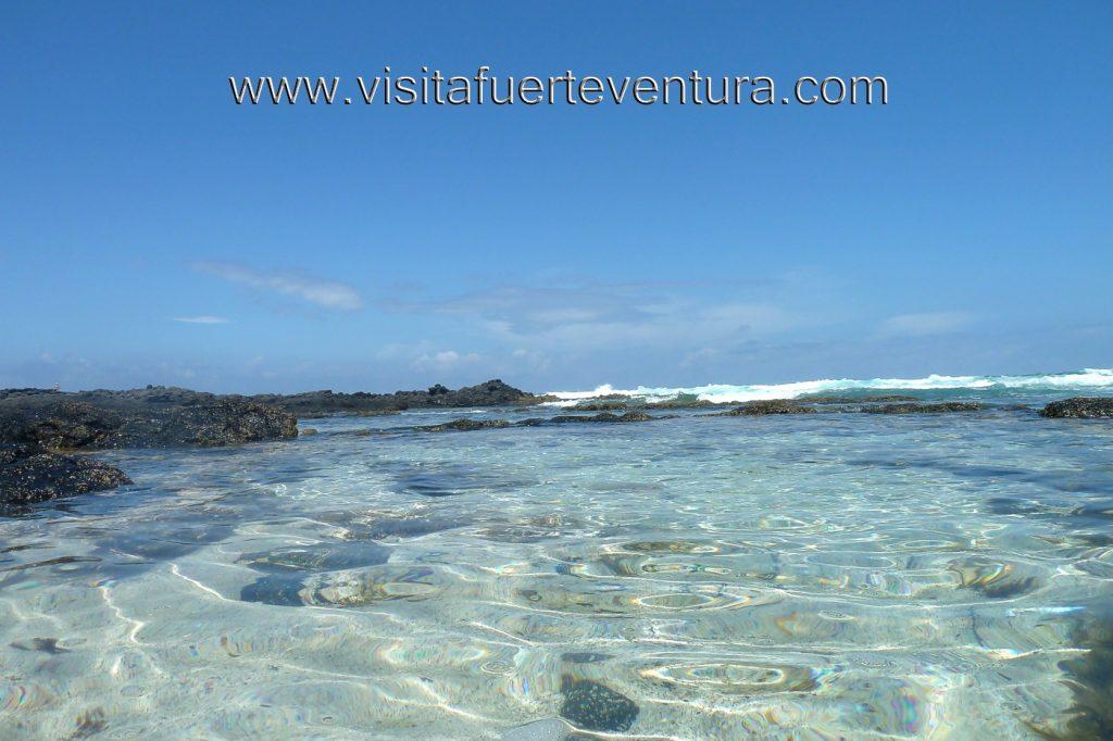 Playa Los Charcos I en La Oliva