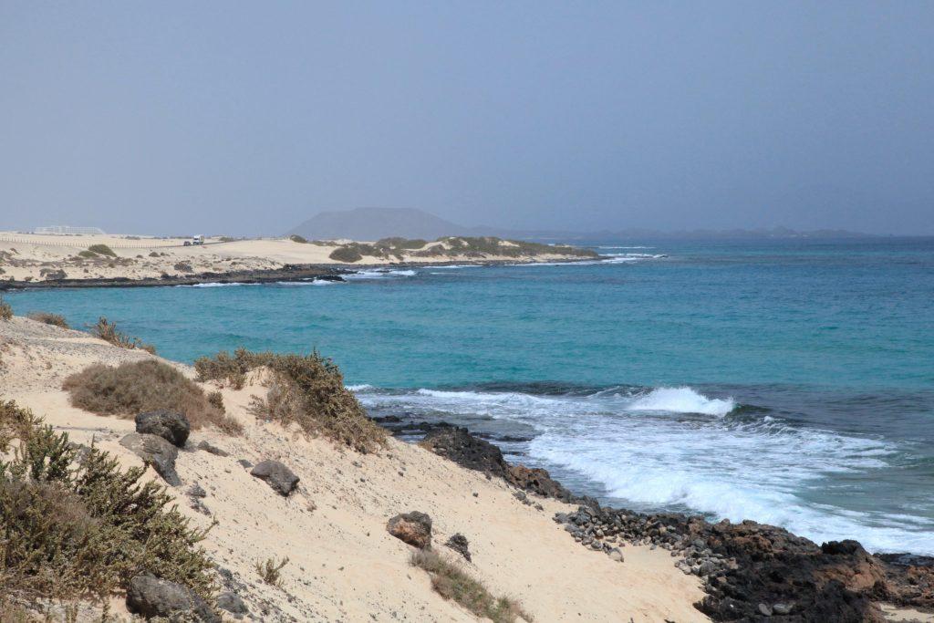 Playa Los Charcos III en La Oliva
