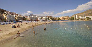 Playa Los Cristianos en Arona