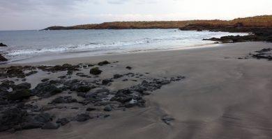 Playa Los Enojados en Arona