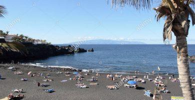 Playa Los Guíos en Santiago del Teide
