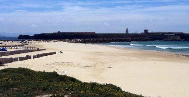 Playa Los Lances Sur en Tarifa