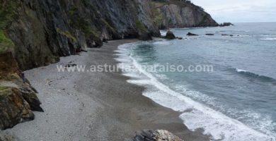 Playa Los Molinos en Valdés
