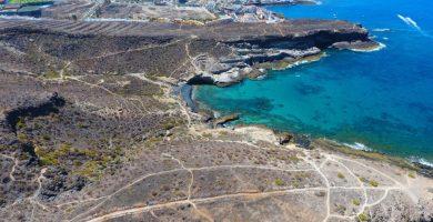 Playa Los Morteros en Adeje