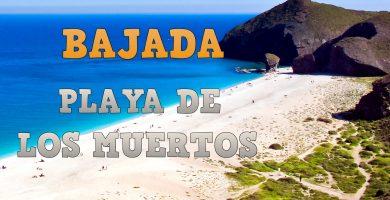 Playa Los Muertos en Carboneras