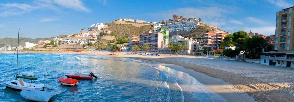 Playa Los Olivos en Cullera