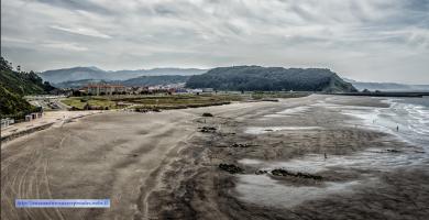 Playa Los Quebrantos en Soto del Barco