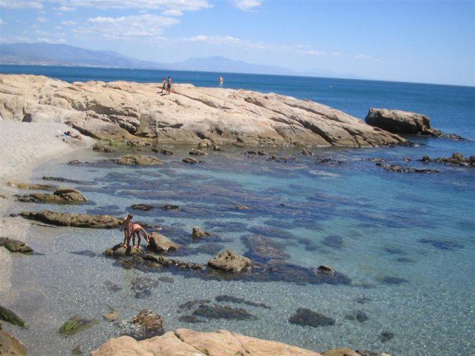 Playa Los Toros en Manilva