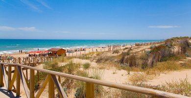 Playa Los Tusales en Guardamar del Segura