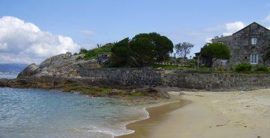 Playa Loureiro en Muxía