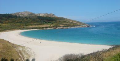 Playa Lourido en Sada