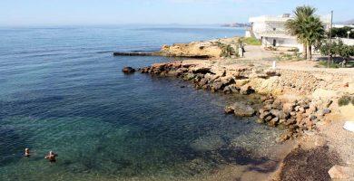Playa Maestro Romero en Cartagena