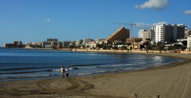 Playa Malapesquera en Benalmádena