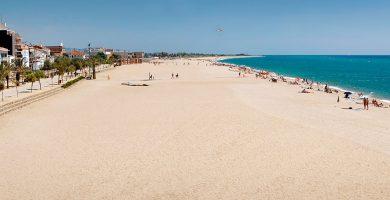 Playa Malgrat Centre en Malgrat de Mar