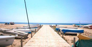 Playa Malgrat de la Conca en Malgrat de Mar