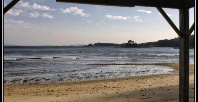 Playa Mañóns en Boiro
