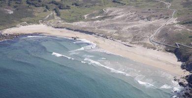 Playa Mar de Fora en Fisterra