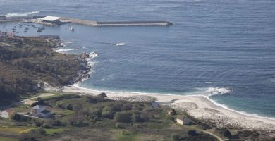Playa Mar de Lira en Carnota