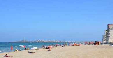 Playa Marchamalo en Cartagena