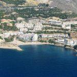 Playa Mascarat Norte en Altea
