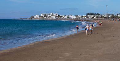 Playa Matagorda en Tías