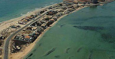 Playa Matasgordas en San Javier