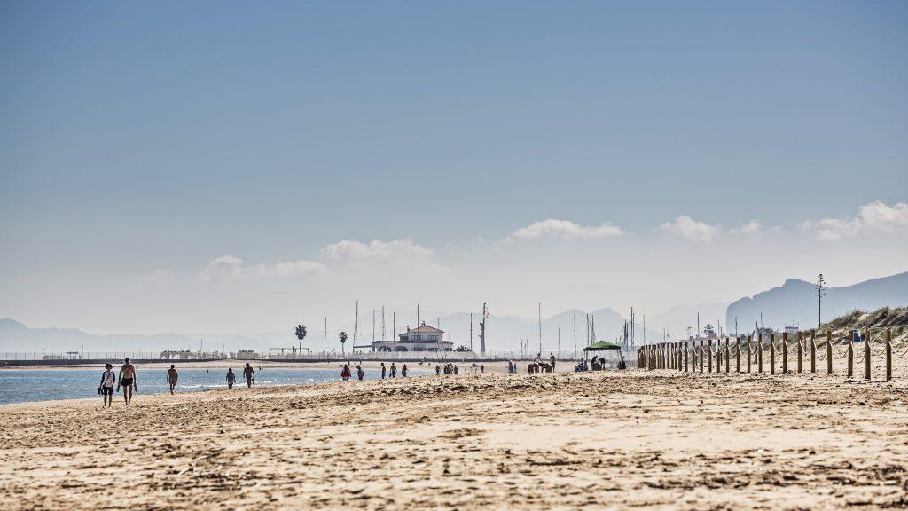 Playa Medano en La Oliva