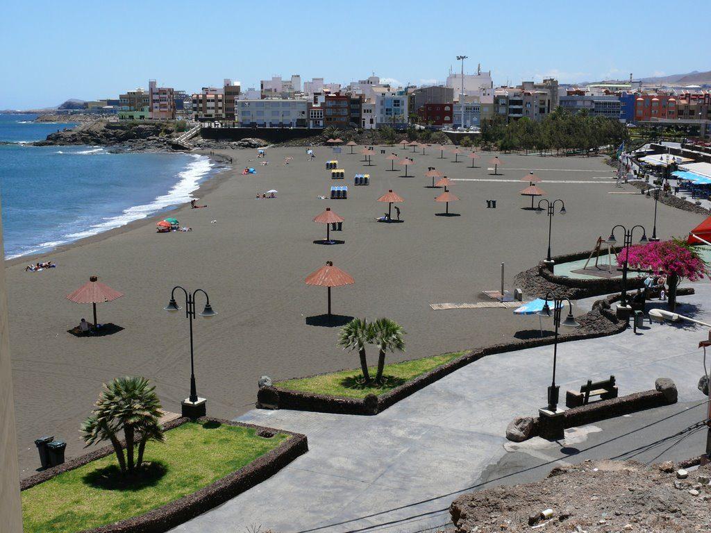 Playa Melenara en Telde