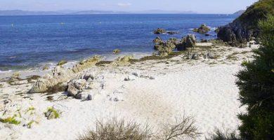 Playa Melide en Cangas