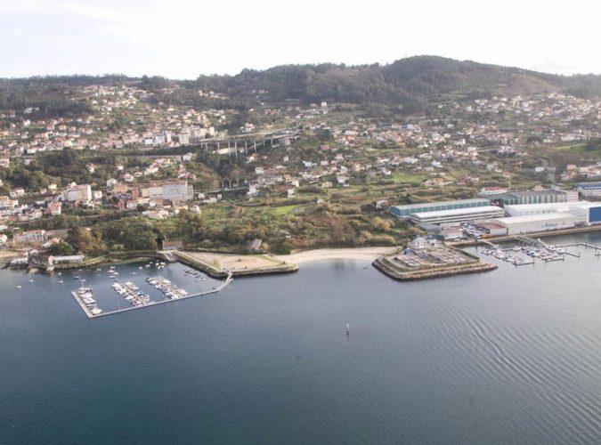 Playa Mende en Vigo