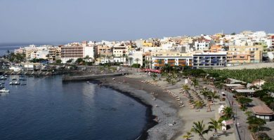 Playa Méndez en Guía de Isora